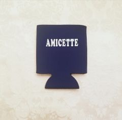 Amicette can koozie