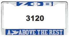 ZPB Dove Above the Rest License Frame
