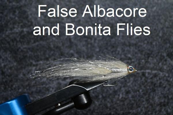 False Albacore and Bonita Flies