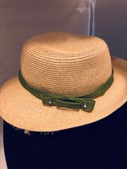Green With Crystal Stone Hat Band