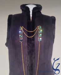 Coat and Sweater Embellishment Fastener SOLD