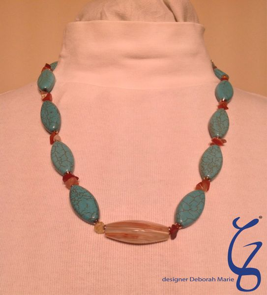 Turquoise with Center