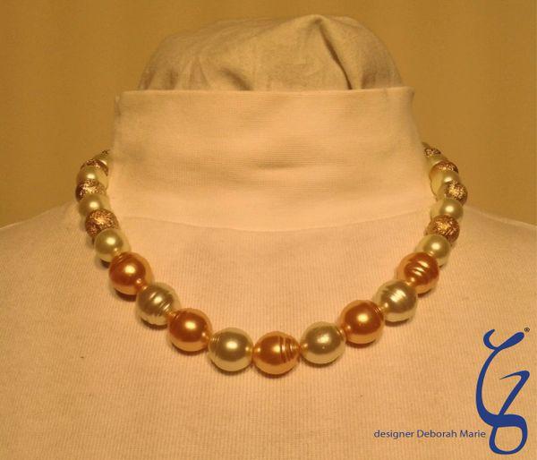 Potato Pearls with Trim