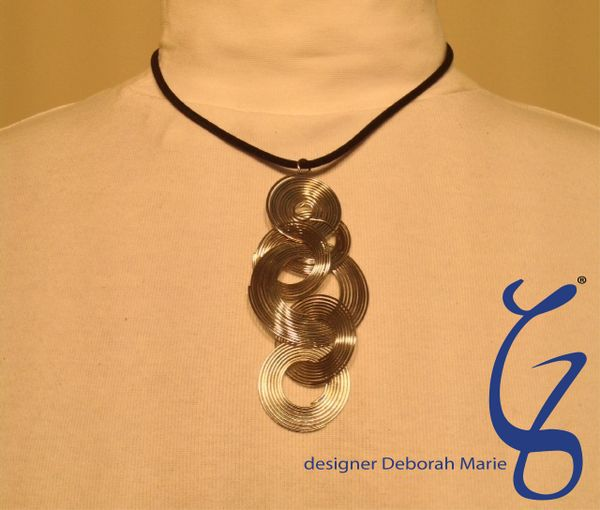 Stainless Circle Pendent