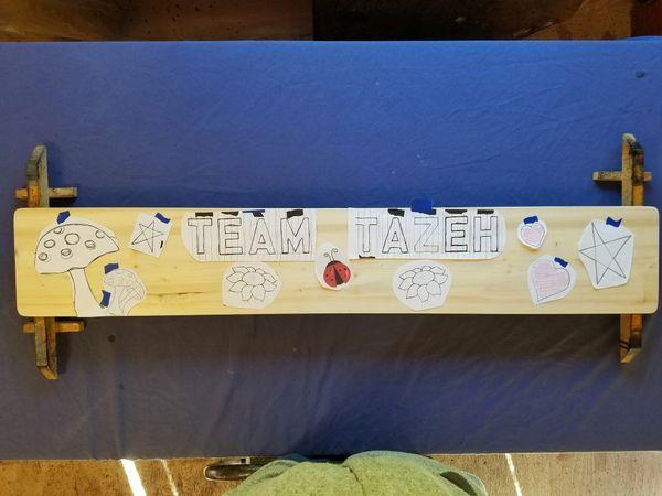 Custom Order for Team Tezeh