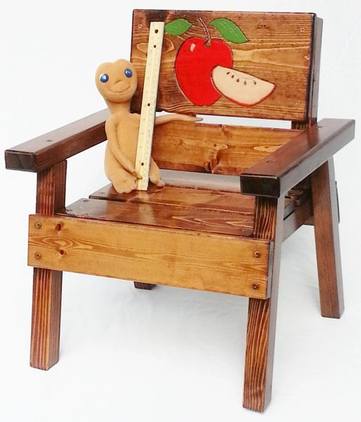 Happy Chair Kids Outdoor Furniture Apple Design