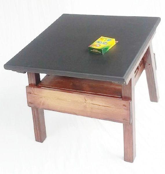 Happy Kids Table Chalkboard Design