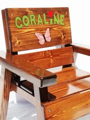 Kids Chair Personalized Indoor / Outdoor Furniture