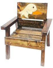 Happy Chair Kids Outdoor Furniture Duck Design