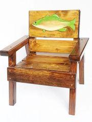 Happy Chair Kids Outdoor Furniture Fish Design