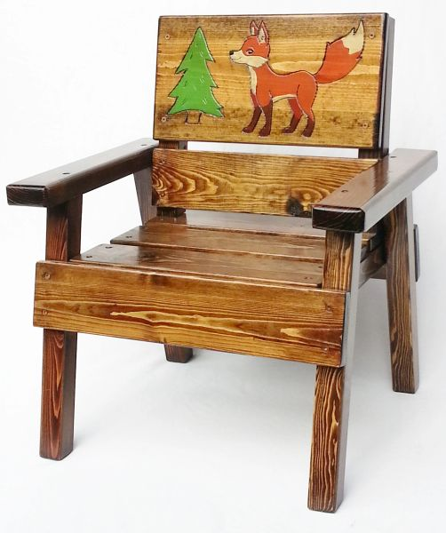 Happy Chair Kids Outdoor Furniture Fox Design