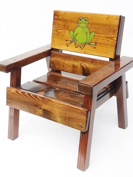 Happy Chair Kids Outdoor Furniture Frog Design