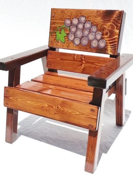 Happy Chair Kids Outdoor Furniture Grapes Design