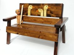 Happy Kids Bench Goose Design