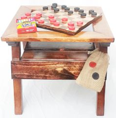 Happy Kids Table Checkers / Chalkboard Design