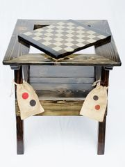 Backgammon / Checkers Game Table Low Profile Design