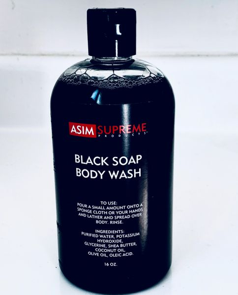 Black Soap Body Wash ( 16 oz.)