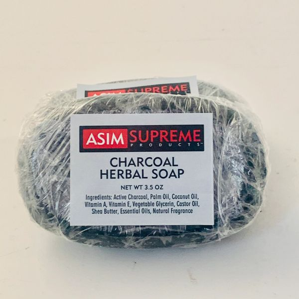 Charcoal Herbal Soap ( 3.5 oz)