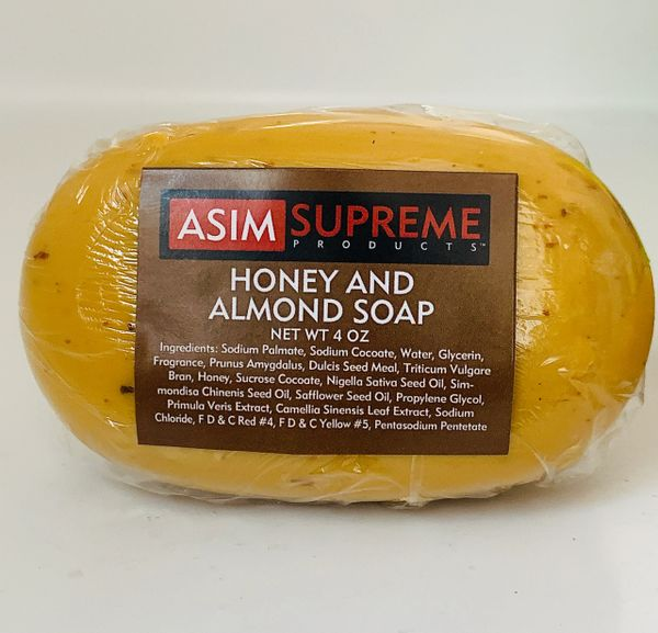 Honey And Almond Soap ( 4 oz.)