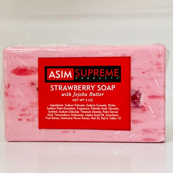 Strawberry Soap w/Jojoba Butter ( 5 oz. )