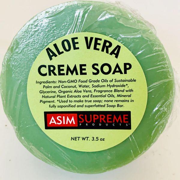 Aloe Vera Creme Soap ( 3.5 oz.)
