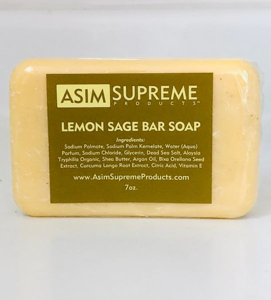 Lemon Sage Bar Soap ( 7 oz.)
