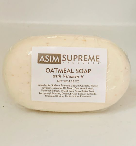 Oatmeal Soap w/ Vitamin E ( 4.25 oz.)
