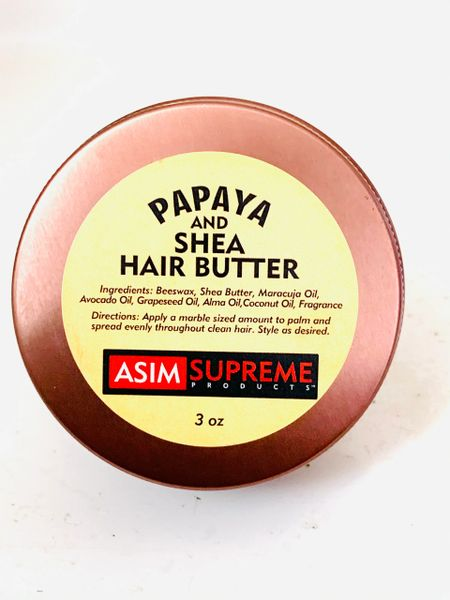 Papaya And Shea Hair Butter ( 3 oz.)