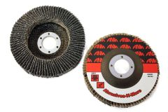 "4-1/2""x7/8"" PREMIUM ZIRCONIA SUPER HIGH DENSITY FLAP DISC"