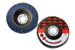 "4-1/2""x5/8""-11 ZIRCONIA W/ GRIND AID SUPER HIGH DENSITY FLAP DISC"