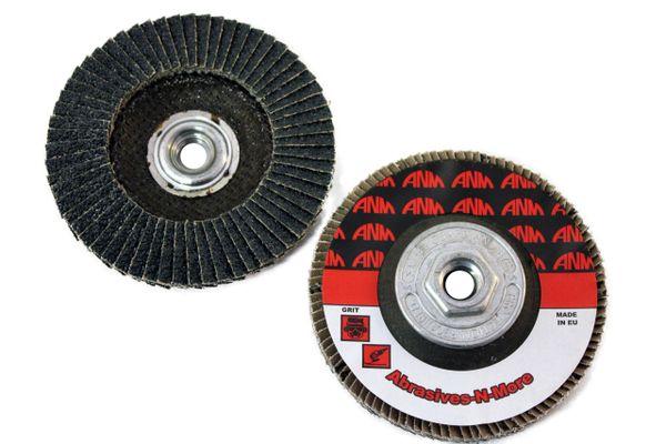 "5""x5/8""-11 PREMIUM ZIRCONIA FLAP DISC"