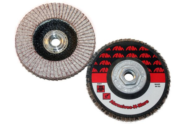 "5""x5/8""-11 ALUMINUM CUT FLAP DISC"