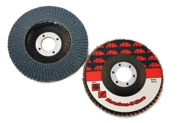 "4-1/2""x7/8"" ZIRCONIA ECONOMY FLAP DISC SMART PACK OF QTY 50"