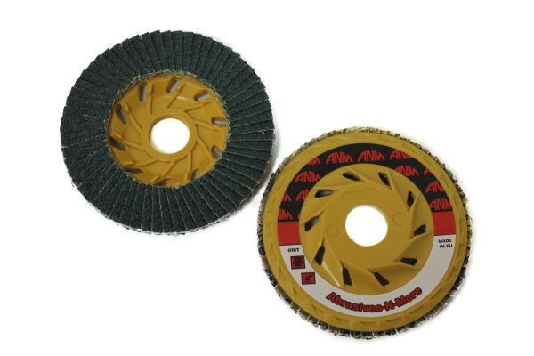 "5""x7/8"" XTREME ZIRCONIA TRIMMABLE FLAP DISC"