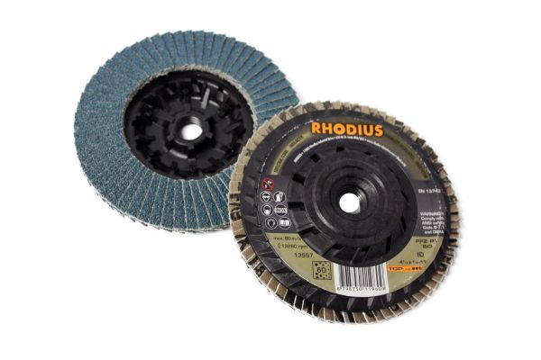 "5""x5/8""-11 XTREME ZIRCONIA TRIMMABLE FLAP DISC"