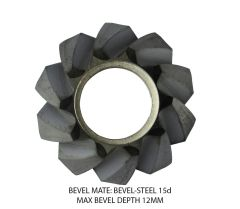 Bevel Mate Bevel Heads - Steel Max Bevel 12MM