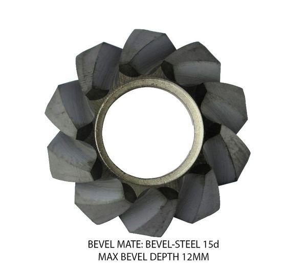 Bevel Mate Bevel Heads - Steel Max Bevel 12MM