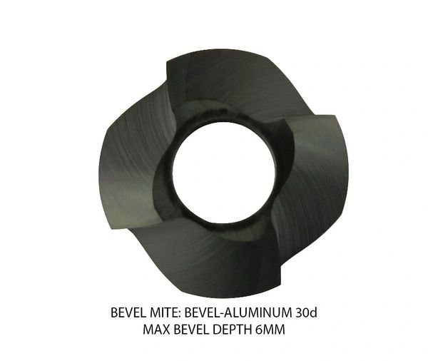 Bevel Mite Bevel Heads - Aluminum Max Bevel 6MM