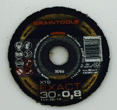 """RHODIUS BRAINTOOLS XT8 EXACT C/O WHEEL 1-1/4""""x.032""""x1/4"""""""