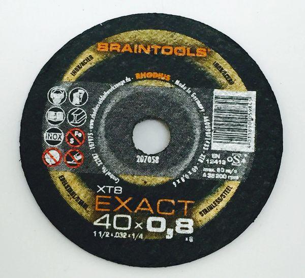 """RHODIUS BRAINTOOLS XT8 EXACT C/O WHEEL 1-1/2""""x.032""""x1/4"""""""