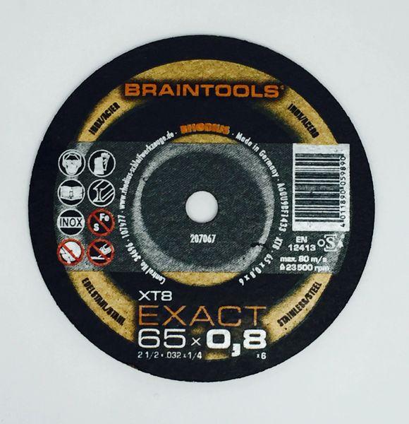 """RHODIUS BRAINTOOLS XT8 EXACT C/O WHEEL 2-1/2""""x.032""""x1/4"""""""