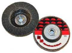 "4-1/2""x5/8""-11 PREMIUM ZIRCONIA HIGH DENSITY FLAP DISC"