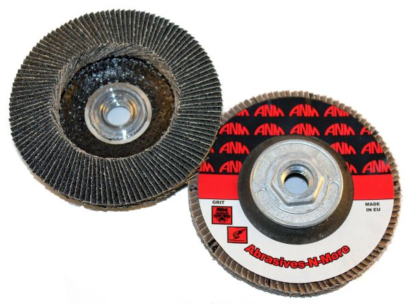 "4-1/2""x5/8""-11 PREMIUM ZIRCONIA HIGH DENSITY FLAP DISC"