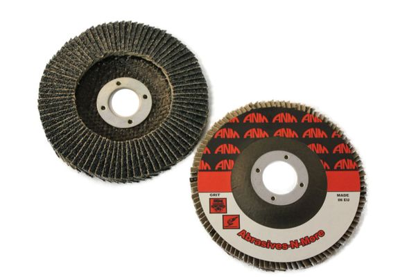 "4""x5/8"" PREMIUM ZIRCONIA HIGH DENSITY FLAP DISC"