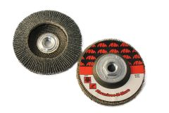 "4""x3/8""-24 PREMIUM ZIRCONIA HIGH DENSITY FLAP DISC"