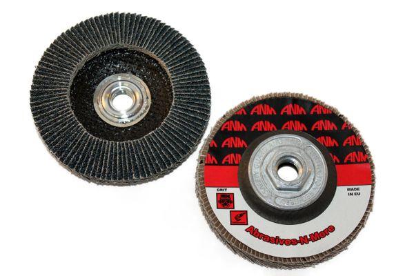"4-1/2""x5/8""-11 PREMIUM ZIRCONIA SUPER HIGH DENSITY FLAP DISC"