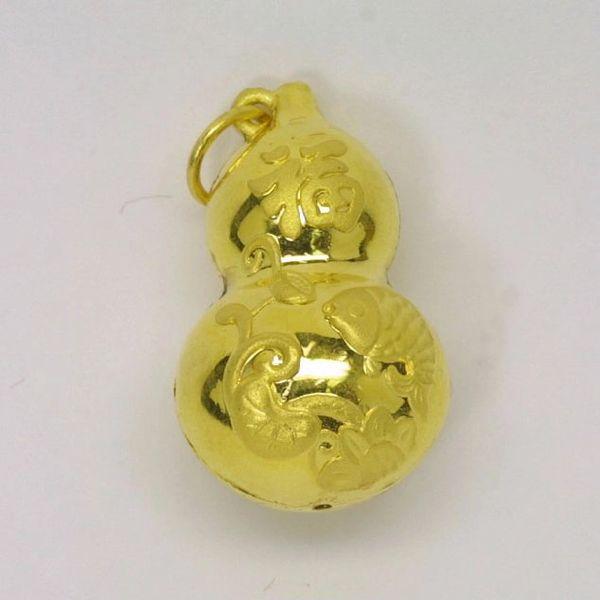 24K Gold Pendant