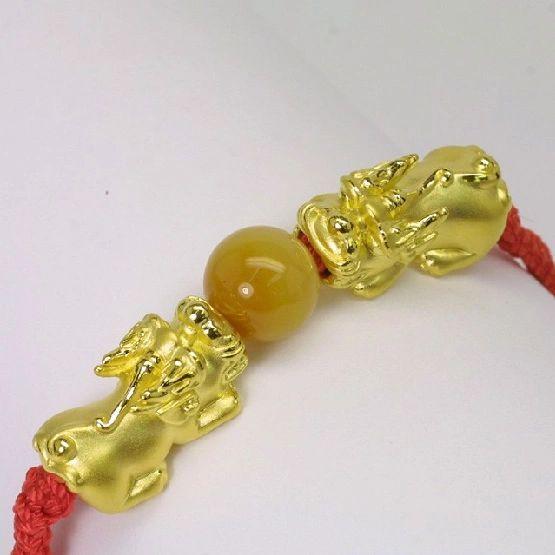 24K Gold PiXiu 貔貅 Bracelet