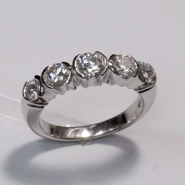 14K W/G Diamond Ring