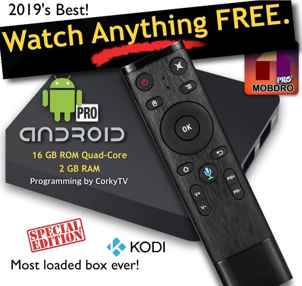 TV Boxes Kodi Unlocked, Terrarium TV +, Mobdro - Kodi Box, Android